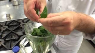 How to make Pea Purée | TheHookandTheCook