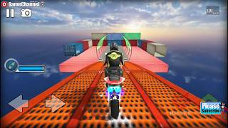 Impossible Bike Stunts 3D / Motor Bike Simulation Games / Android Gameplay Video