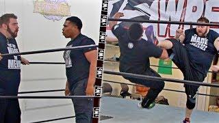MALCOLM vs GRIM - yWo Heavyweight Championship
