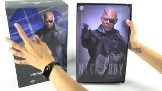 Hot Toys Nick Fury Unboxing Livestream