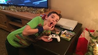XBOX ONE S SURPRISE PRANK ON LITTLE BROTHER