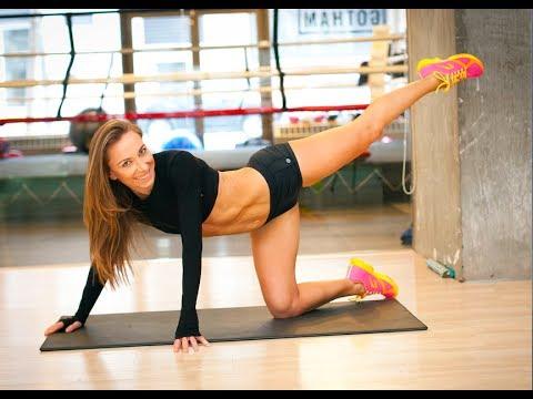 Ćwiczenia Sylwii Wiesenberg na seksowne nogi i pośladki RUSZ SIĘ
