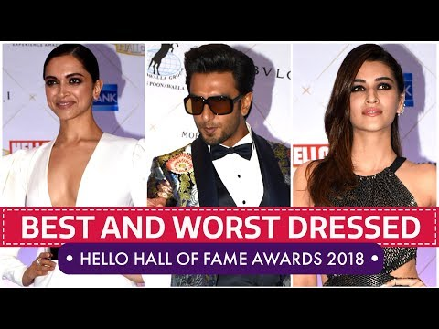 Deepika Padukone, Kriti Sanon, Mira Rajput: Hello Hall of Fame Awards 2018 | Pinkvilla | Bollywood