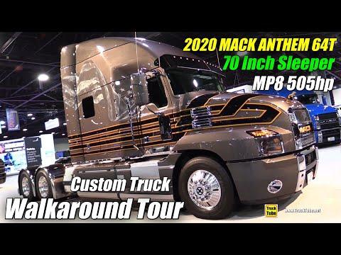 2020 Mack Anthem 64T Zac Brown Customs 70inch Sleeper MP8 505hp Exterior Interior Walkaround