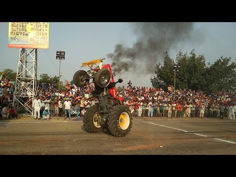 Sawraj 855 Happy mahla New Stunt in Raikot Ludhiana