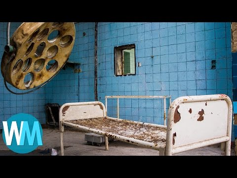 Top 10 Photos of Abandoned Places That Will CREEP YOU OUT