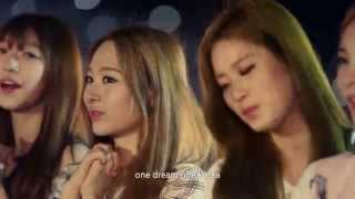 K-Pop Stars singing Official Song - One Dream One Korea (lyrics)