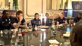 Thomas Lemar fête ses 21 ans avec les Bleus !
