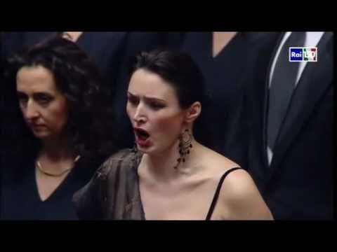 Viktoriia Chenska Scena ed aria di Abigaille cond. R.Muti