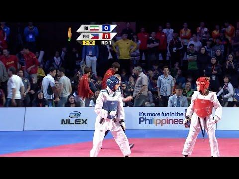 Xxx Mp4 Female 57kg Semifinal Iran Vs Philippines I 22nd Asian Taekwondo Championships 3gp Sex