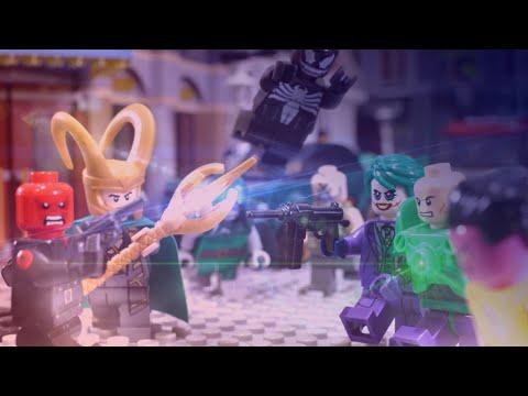 Lego Marvel vs DC Villains