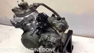 Rebuilding the Kawasaki kdx200