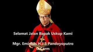 Upacara Megah Pemakaman Uskup Malang Mgr. Emiritus H.J.S Pandoyoputro O.carm 26/9/2016