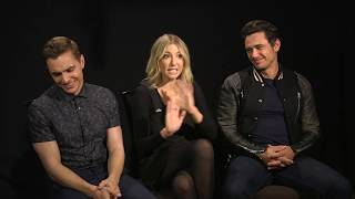The Disaster Artist Interview - James Franco, Dave Franco & Ari Graynor