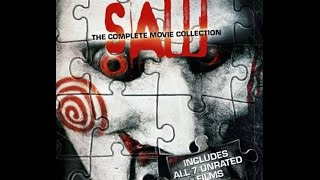 *UNBOXING!* SAW: THE COMPLETE MOVIE COLLECTION - UNRATED 3 DISC BLU RAY