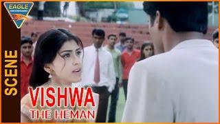 Vishwa the Heman Hindi Dubbed Movie || Shriya Saran Angry On Subbaraju || Eagle Hindi Movies