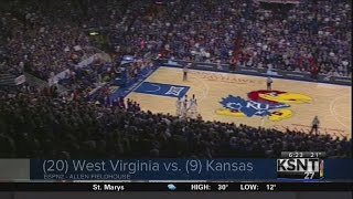 Kansas stages big comeback to defeat West Virginia in overtime and win Big 12 championship