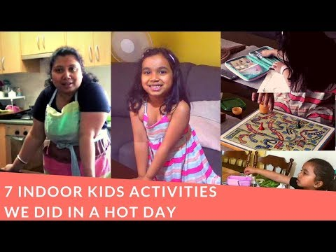 Xxx Mp4 7 Indoor Kids Activities We Did In A Hot Day Bengali NRI Mom Lifestyle Vlog 3gp Sex
