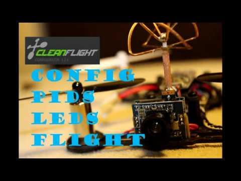 QX95 - configuration, PIDS, FPV flight