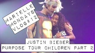 Marielle Monday Vlog #12 - Justin Bieber #PurposeTourChildren Part 2