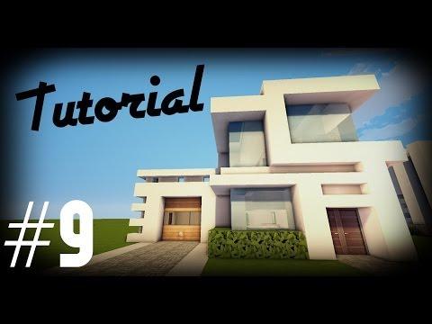 Minecraft Como hacer una casa moderna 9 Tutoriales construcciones