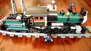 LEGO Lone Ranger train motorised & modified 79111