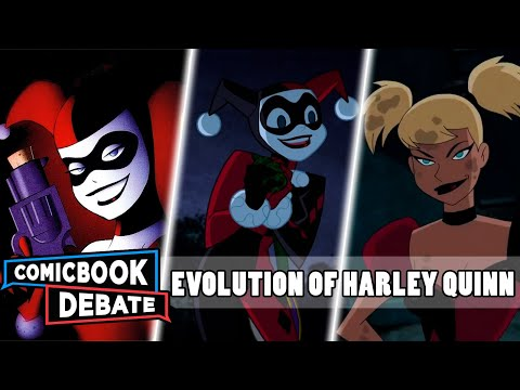 Xxx Mp4 Evolution Of Harley Quinn In Cartoons In 7 Minutes 2017 3gp Sex