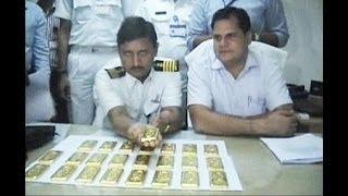 شمش های طلا در توالت هواپیمای هندی