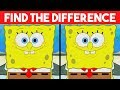 Download Video Download Bet you can't FIND THE DIFFERENCE! | 100% FAIL | Spongebob Cartoon photo Puzzle 3GP MP4 FLV