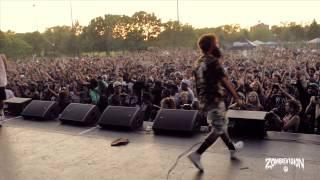 ZOMBiEVision Episode 1: Flatbush Zombies Headline NYC Summerstage 2013