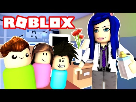 I SAVED THESE BABIES LIVES THE DOCTOR IS IN TOWN Roblox Roleplay