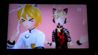 96Neko y Len-ProjectDivaF-AH, ITS A WONDERFUL CAT LIFE-EditMode