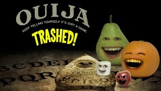 Annoying Orange - OUIJA TRAILER Trashed!!!