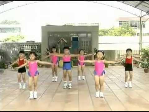 bài tập thể dục buổi sáng cho trẻ Mầm Non bài 3