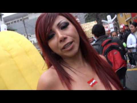 Daysi Araujo muestra todo por la seleccion Peruana.