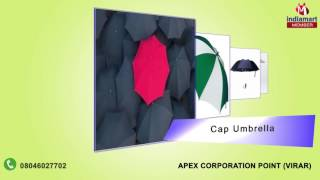 Printed and Wooden Umbrella by Apex Corporation Point, Virar