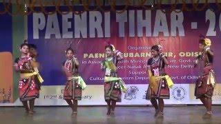SAMBALPURI FOLK DANCE @paenri tihar, subarnapur,odisha by chaudhuri bibhar