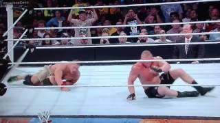 WWE Summerslam 2014 John Cena Vs Brock Lesnar Match Highlights