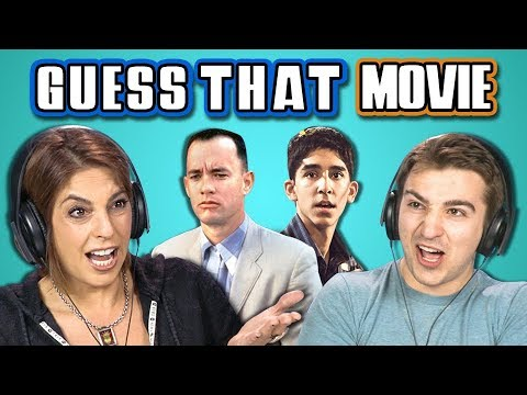 ADULTS GUESS THAT MOVIE CHALLENGE Oscar Winners REACT