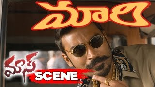 Dhanush Turns As Auto Driver - Robo Shankar Comedy - Maari Movie Scenes