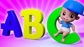 ABC Song | Junior Squad | Kindergarten Nursery Rhymes For Babies
