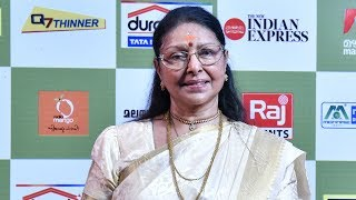 Lalitham 50 I Sharada on red carpet l Mazhavil Manorama