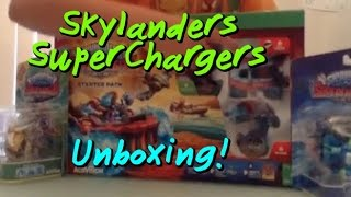 Skylanders SuperChargers Unboxing