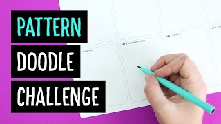 8 Day Pattern Doodle Challenge   Sea Lemon