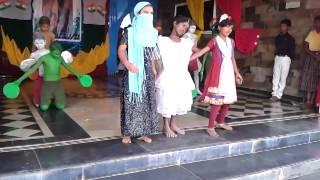 Vandemataram performance by little children...