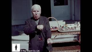 Charlie Chaplin Swallows Easter Egg - Rare Home Movie Footage