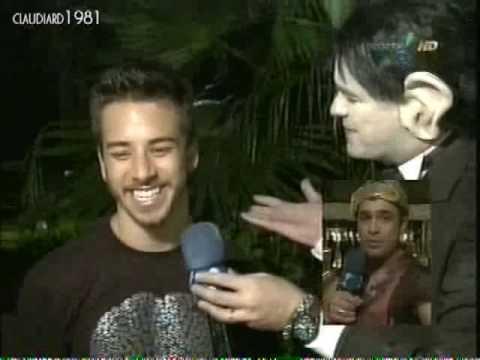 Amaury Dumbo leva porrada na boate Disco Pânico na TV 14.03.2010