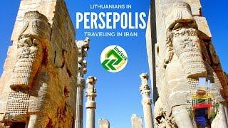 Traveling in Iran. Visiting Persepolis