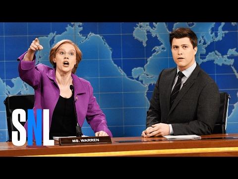 Weekend Update Senator Elizabeth Warren SNL