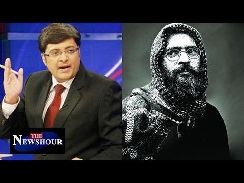 Tribute To Afzal Guru at JNU - Students Crossed All Lines? : The Newshour Debate (10th Feb 2016)